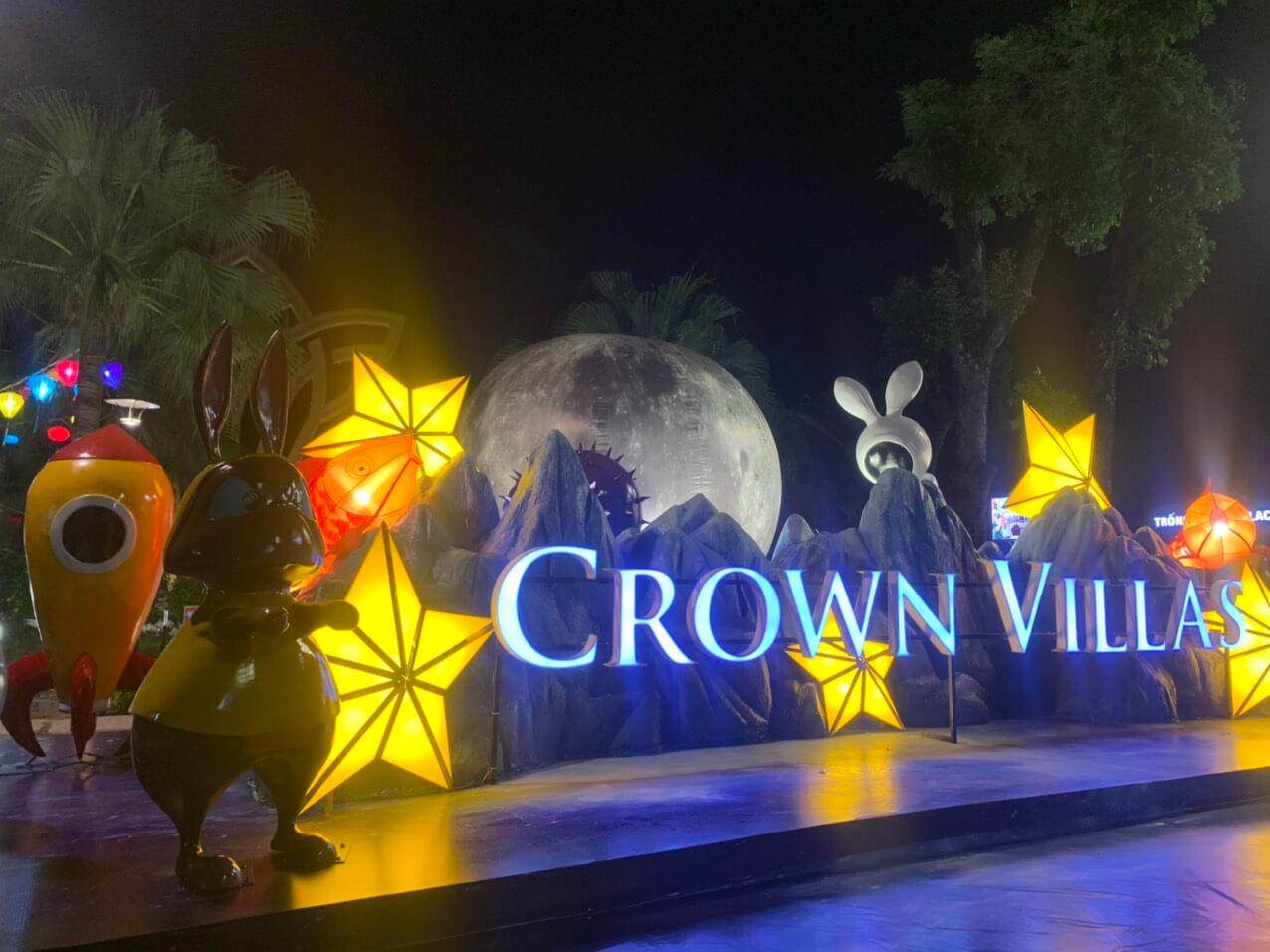 Sự kiện tổ chức Tết Trung Thu tại Crown Villas