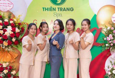 Khai trương Thiên Trang Spa – Sự kiện thu hút hàng nghìn khách hàng