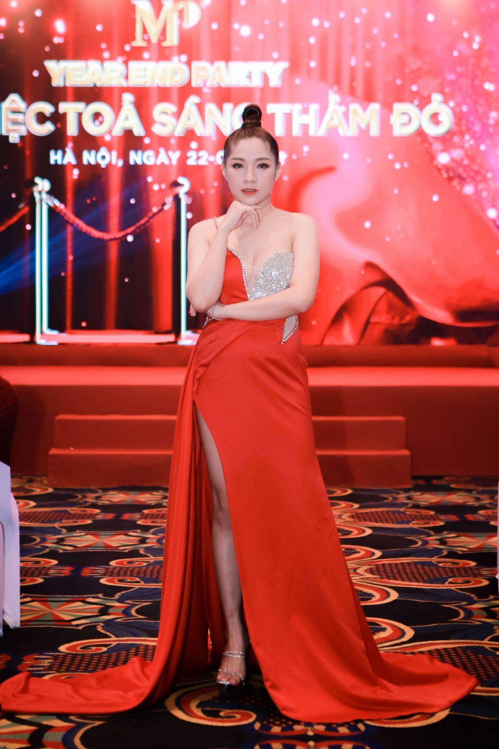 Nữ CEO xinh đẹp, tài ba của Công ty Cổ phần dược mỹ phẩm MP1 - Mai Thùy Dương