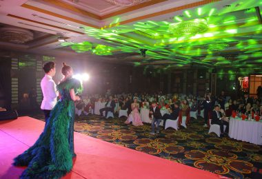 Tổ chức sự kiện Year End Party cho Công ty Cổ phần Dược Mỹ phẩm MP1