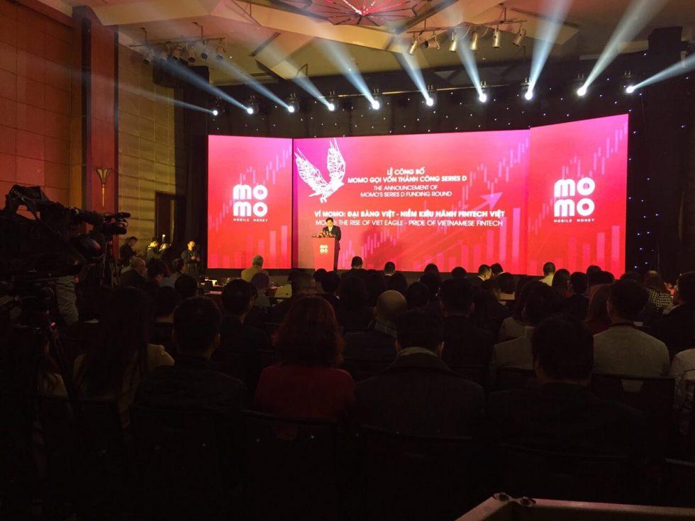 Buổi Lễ công bố Ví điện tử MoMo gọi vốn thành công Series D do đội ngũ Golden Star setup
